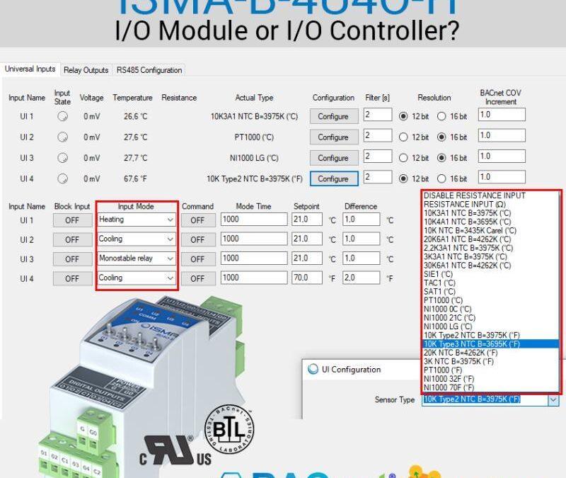 iSMA-B-4U4O-H – V/V modul nebo V/V regulátor?