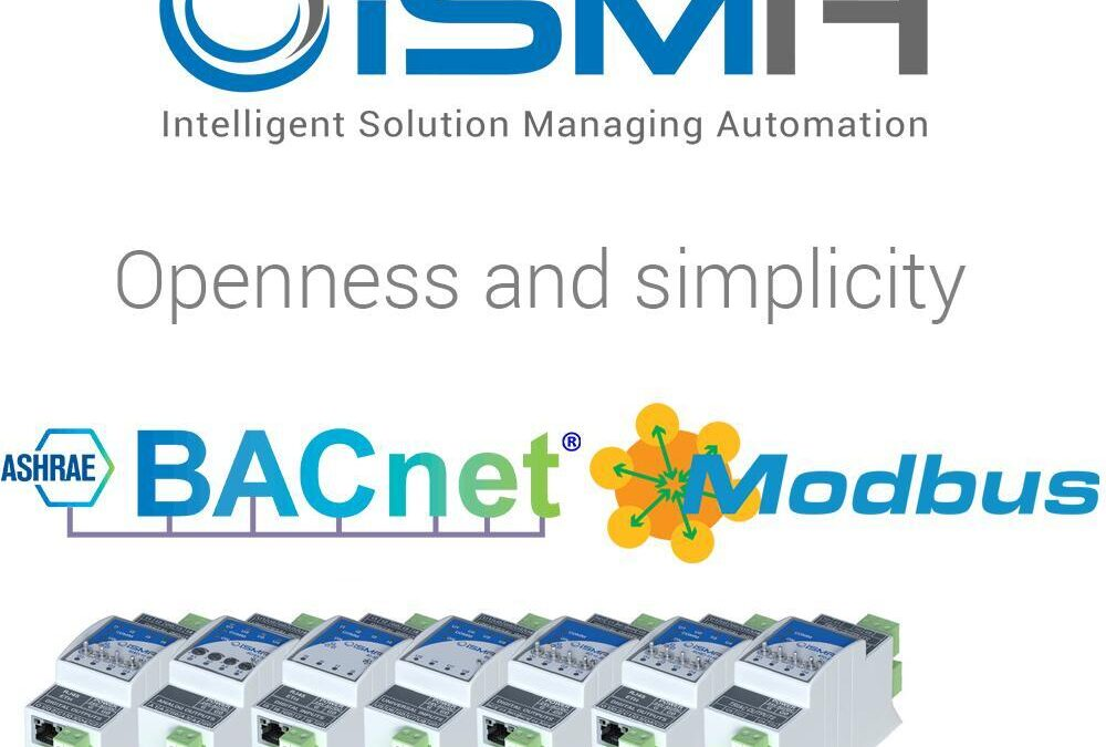 Otevřenost a jednoduchost iSMA V/V modulů