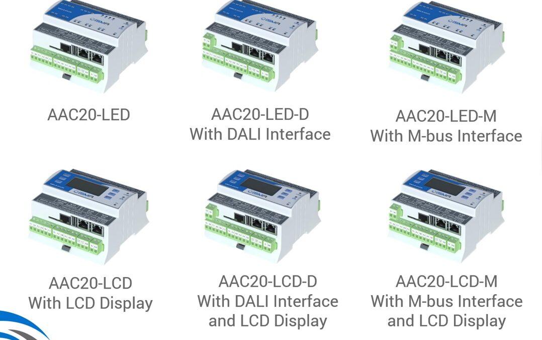 Jaké jsou varianty regulátoru AAC20?