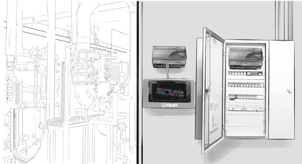 iSMA Panel PC a jejich využití v systémech BMS