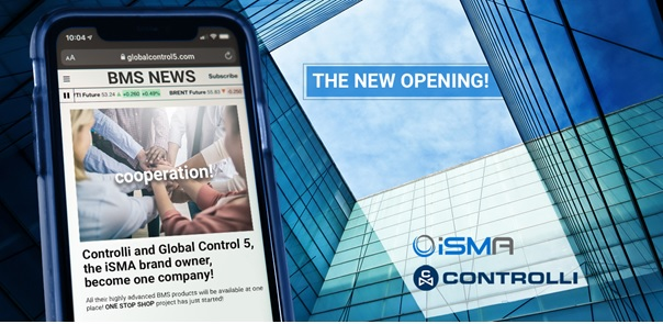 Společnosti Global Control 5 a Controlli ohlašují sloučení
